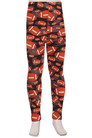 American Football Printed Kids Legging 2