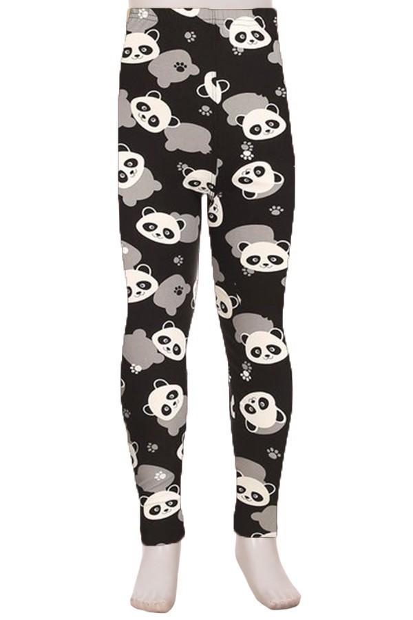 Panda Print Kids Legging 1