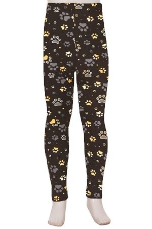 Paws Print Kids Leggings 2