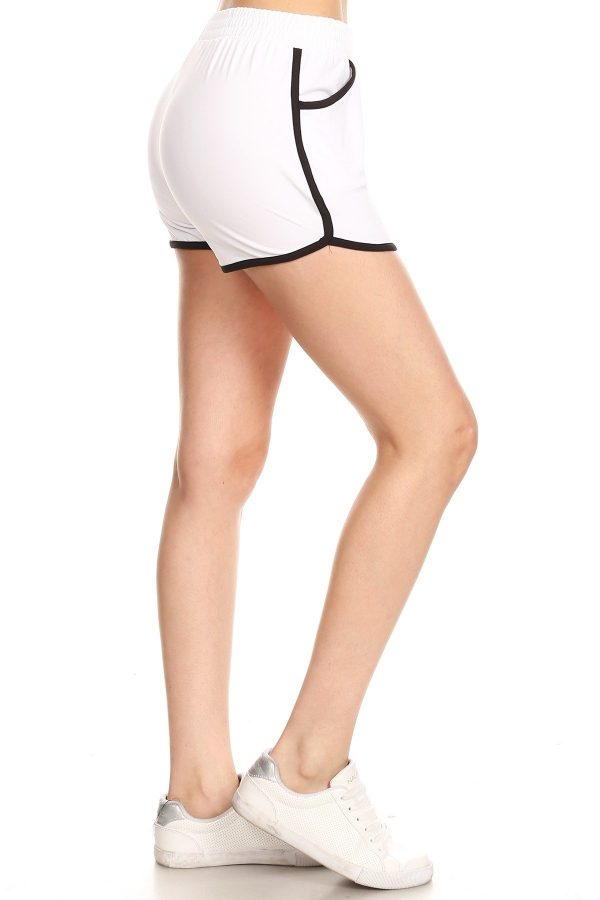 White Dolphin Shorts with Pockets 2