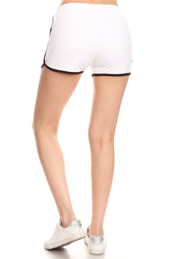 White Dolphin Shorts with Pockets 3