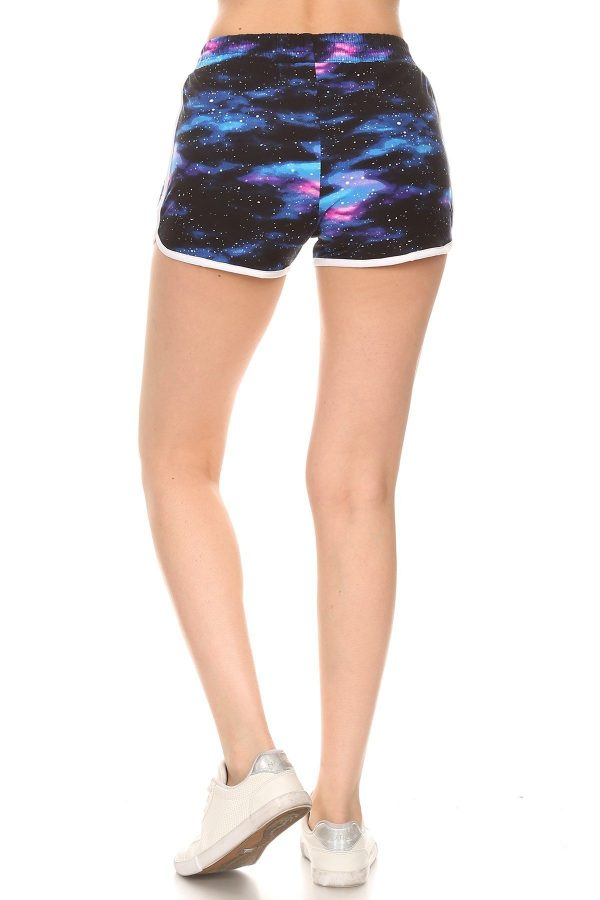 Galaxy Printed Shorts 3